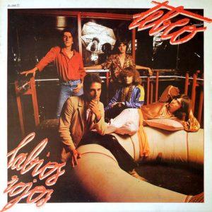 TEBEO - Labios Rojos (LP Zafiro 1980)