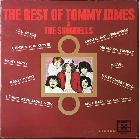 TOMMY JAMES & THE SHONDELLS – The Best Of (LP,GF Roulette ) 1