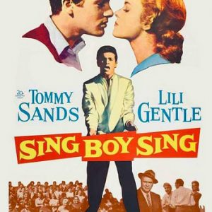 TOMMY SANDS - Sing Boy Sing (DVD Dvd )