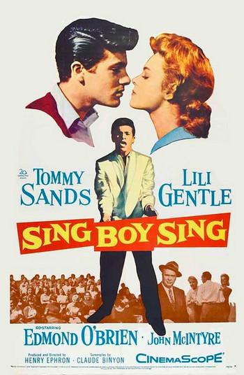 TOMMY SANDS - Sing Boy Sing (DVD Dvd )