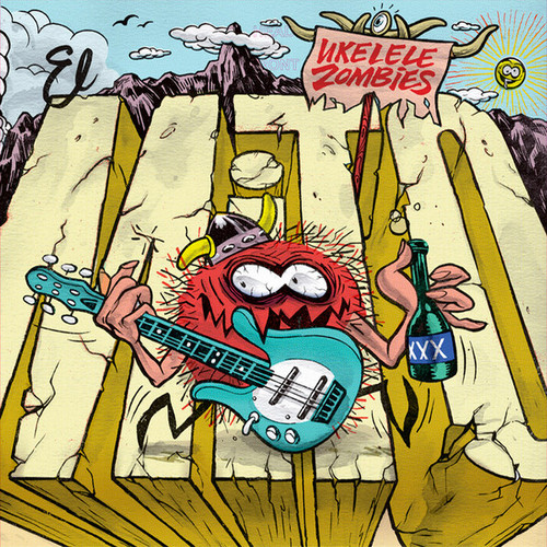 UKELELE ZOMBIES - El Mito (LP,GF Devil Records 2018)