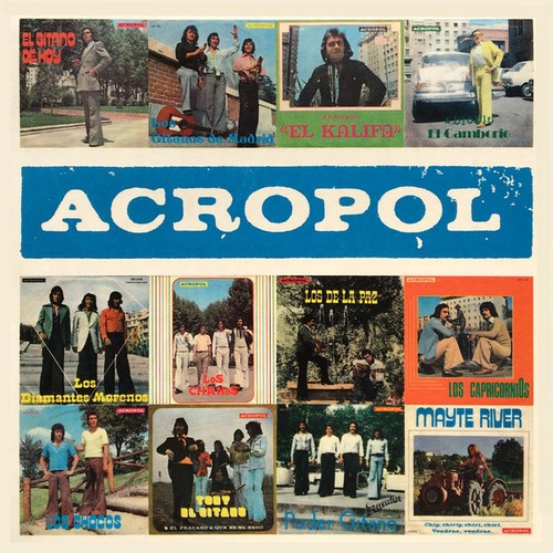 VVAA - Acropol (LP+CD Discos Templo 2016)