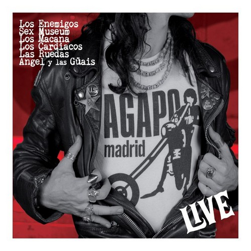VVAA – Agapo Live (LP,RE Munster 1989,2013) 1