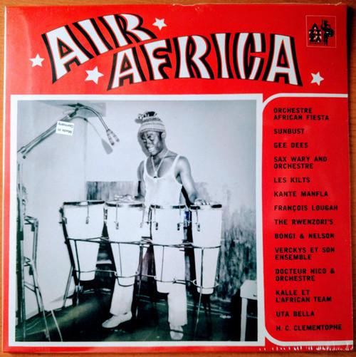VVAA - Air Africa. Noir C'est Noir Premiere Volume. Afro Beat & Soul (LP Aziza Disques 2017)