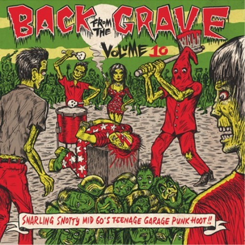 VVAA - Back From The Grave Volume 10 (LP,GF Crypt 2014)