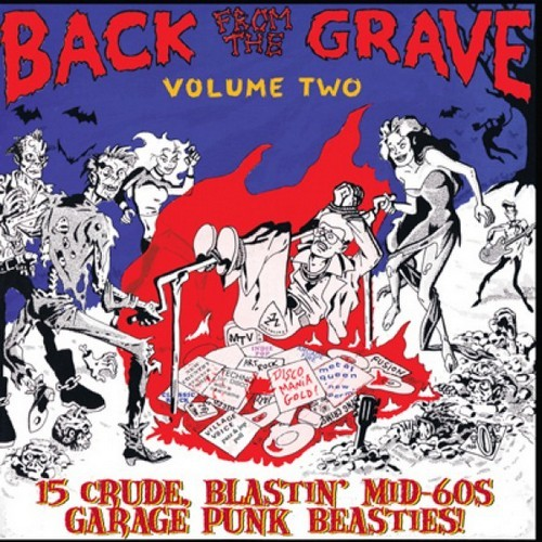 VVAA – Back From The Grave Volume 2 (LP,GF Crypt 2015) 1