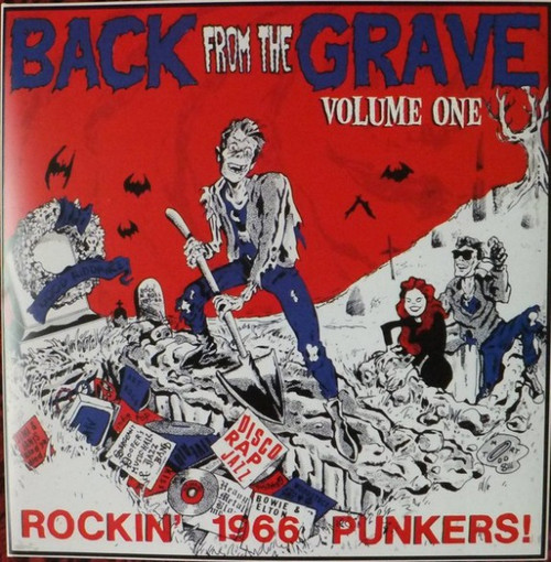 VVAA - Back From The Grave Volume 1 (LP,GF Crypt 2013)
