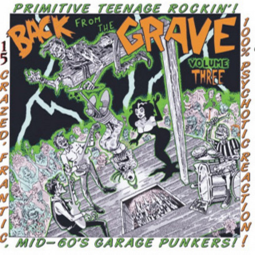 VVAA – Back From The Grave Volume 3 (LP,GF Crypt 2015) 1