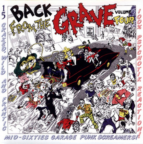 VVAA - Back From The Grave Volume 4 (LP,GF Crypt 2013)
