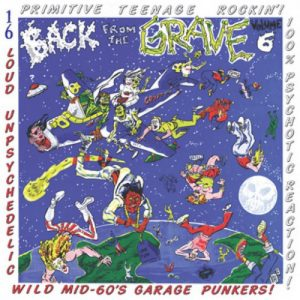 VVAA - Back From The Grave Volume 6 (LP,GF Crypt 2015)