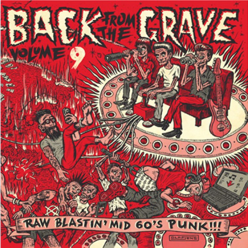 VVAA - Back From The Grave Volume 9 (LP,GF Crypt 2014)