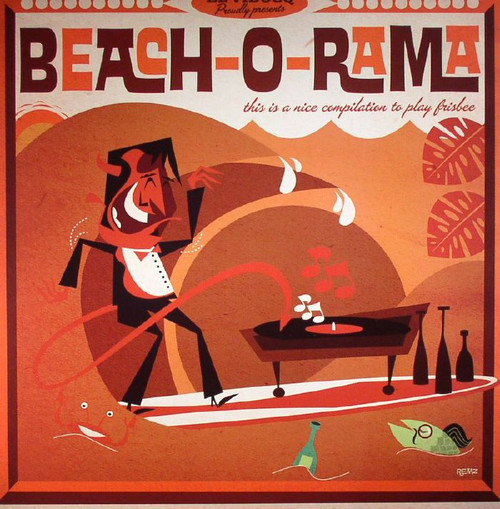 VVAA - Beach-O-Rama (LP Jukebox Music Factory )