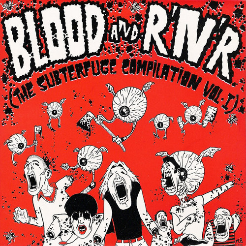 VVAA - Blood and R'n'R (The Subterfuge Compilation Vol I) (EP Subterfuge Records 1990)