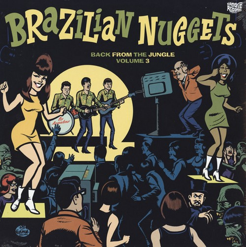 VVAA - Brazilian Nuggets - Back From The Jungle Volume 3 (LP Groovie 2014)
