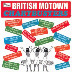 VVAA - British Motown Chartbusters (LP Tamla Motown 1967)