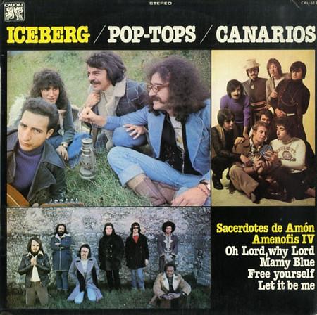 VVAA - Iceberg / Pop Tops / Canarios (LP Caudal 1978)