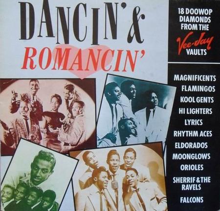 VVAA – Dancin' & Romancin' – 18 Doowop Diamonds from the Vee-Jay Vaults (LP Zafiro 1990) 1