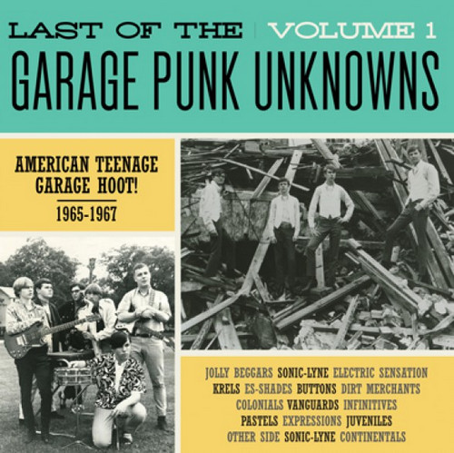 VVAA - Last of The Garage Punk Unknowns Volume 1 (LP,GF Crypt 2015)