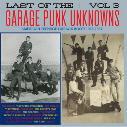 VVAA - Last of The Garage Punk Unknowns Volume 3 (LP,GF Crypt 2015)