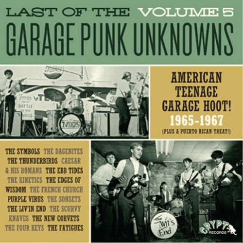 VVAA – Last of The Garage Punk Unknowns Volume 5 (LP,GF Crypt 2016) 1