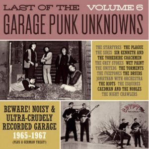 VVAA - Last of The Garage Punk Unknowns Volume 6 (LP,GF Crypt 2016)