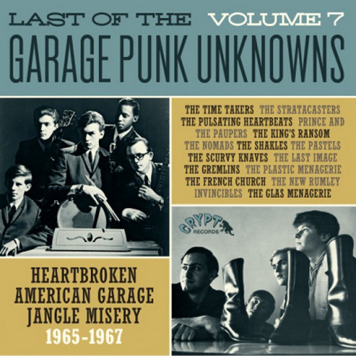 VVAA - Last of The Garage Punk Unknowns Volume 7 (LP,GF Crypt 2016)