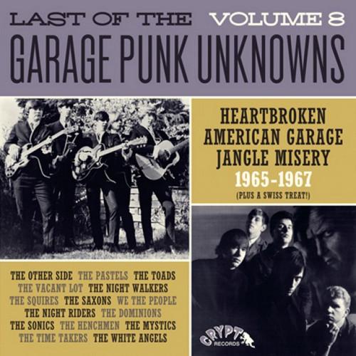 VVAA - Last of The Garage Punk Unknowns Volume 8 (LP,GF Crypt 2016)