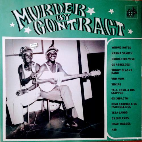 VVAA - Murder By Contract. Noir C'est Noir Second Volume. Afro Rock & Garage (LP Aziza Disques 2017)
