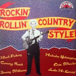 VVAA - Rockin' Rollin Country Style! (LP Zafiro  1988)