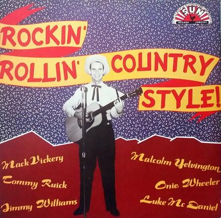 VVAA – Rockin' Rollin Country Style! (LP Zafiro  1988) 1