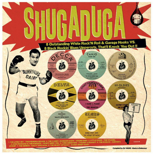 VVAA – Shugaduga (LP Punch-Out! Records 2017) 1