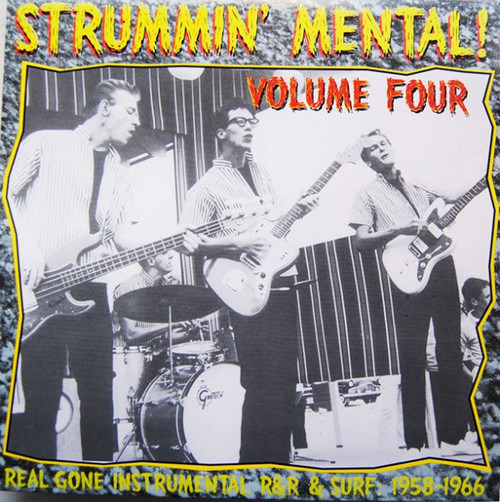 VVAA - Strummin' Mental! Vol 4 (LP Link Wraycords )