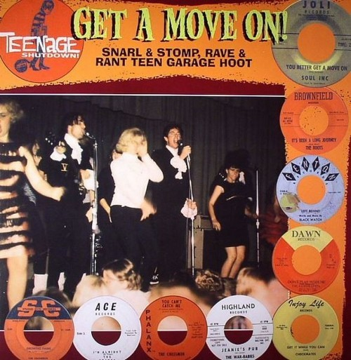 VVAA - Teenage Shutdown - Get A Move On!!! (LP,RP Teenage Shutdown )