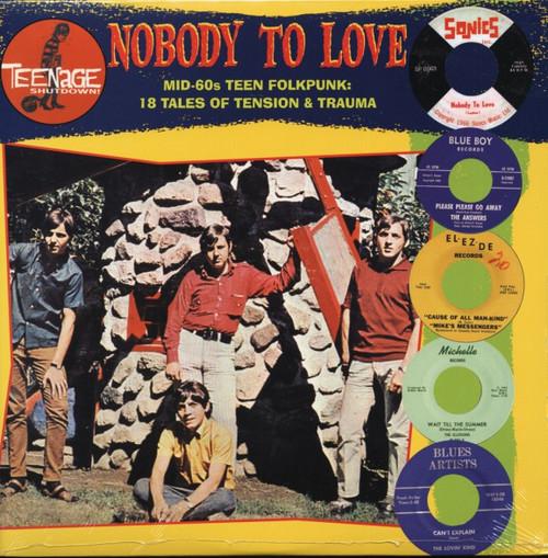 VVAA - Teenage Shutdown - Nobody to Love (LP,RP Teenage Shutdown )