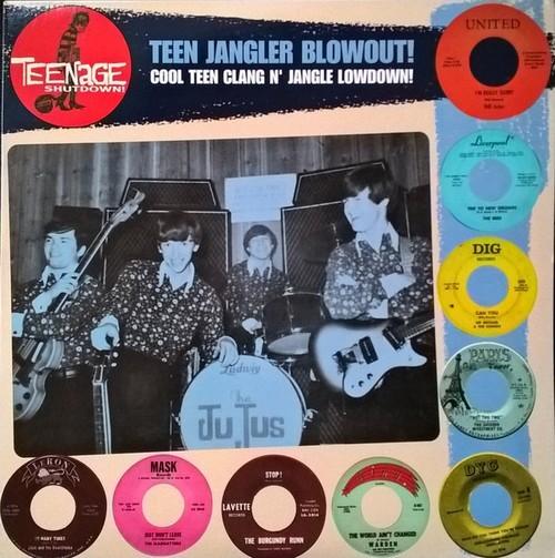 VVAA - Teenage Shutdown - Teen Jangler Blowout! (LP,RP Teenage Shutdown )