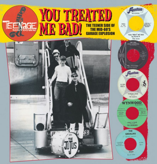 VVAA – Teenage Shutdown – You Treated Me Bad! (LP,RP Teenage Shutdown ) 1