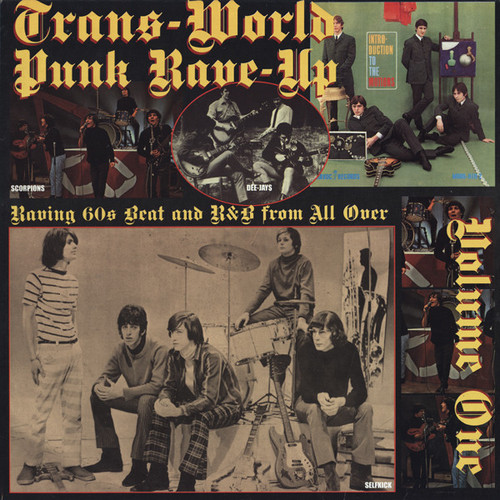 VVAA - Trans-World Punk Rave-Up Vol 1 (LP,RE Crypt 2008)
