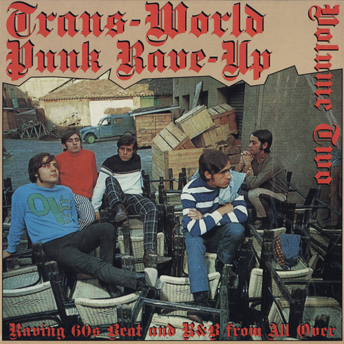 VVAA - Trans-World Punk Rave-Up Vol 2 (LP,RE Crypt 2002)