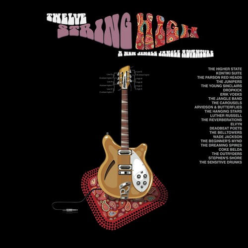 VVAA - Twelve String High (2LP,GF You Are The Cosmos 2016)