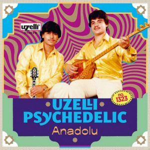VVAA - Uzelli Psychedelic Anadolu (LP,GF Uzelli 2017)
