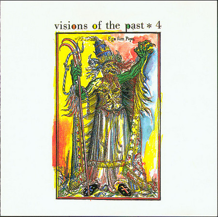 VVAA - Visions of the Past. Vol IV (Britsh Psychedelia) (LP,White Disc de Luxe )