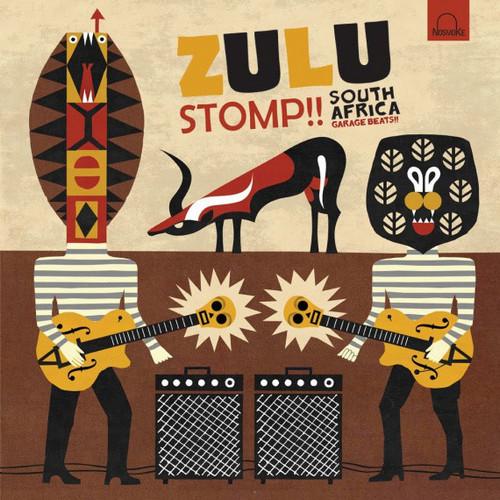 VVAA – Zulu Stomp!! South Africa Garage Beats!! (LP Nosmoke 2010) 1