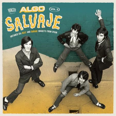 VVAA - Algo Salvaje Vol 2 (2LP,GF Munster 2016)