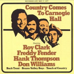 VVAA - Country Comes to Carnegie Hall (2LP,GF ABC Dot 1977)