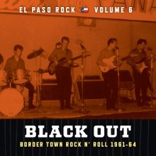 VVAA - El Paso Rock Volume 6 - Black Out (LP Norton 2012)