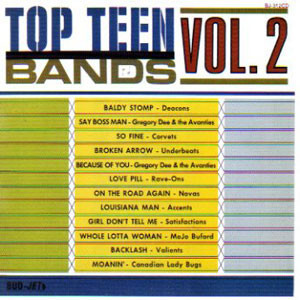 VVAA - Top Teen Bands Vol. 2 (LP,RE Bud-Jet 1965)