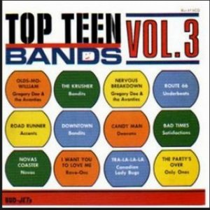 VVAA - Top Teen Bands Vol. 3 (LP,RE Bud-Jet 1966)