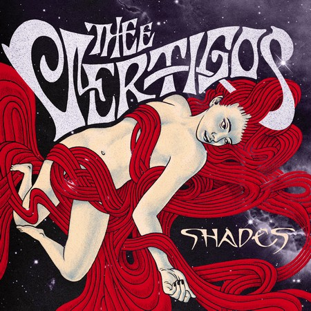 VERTIGOS, THEE - Shades (LP Discos Jaguar 2016)