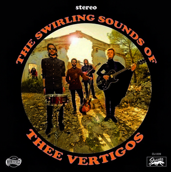VERTIGOS, THEE - The Swirling Sounds of (EP Discos Jaguar 2014)