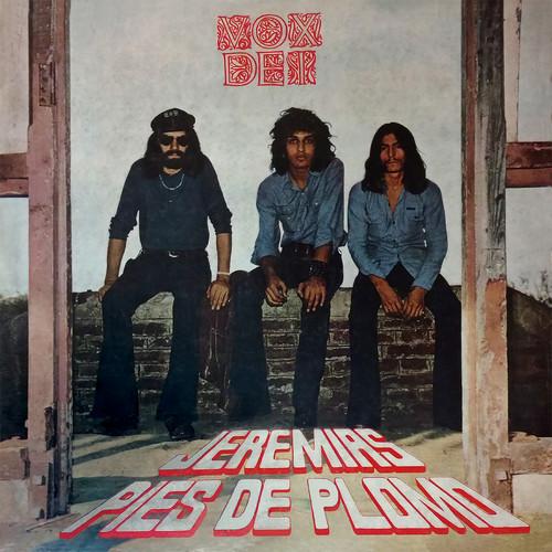 VOX DEI - Jeremias Pies de Plomo (LP,RE Sommor 1972,2019)